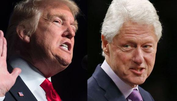 ¿Por qué Donald Trump y Bill Clinton se han vuelto a enfrentar?