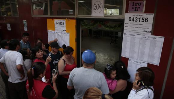 Ejecutivo lanzará herramienta que permitirá a los votantes conocer los antecedentes de sus candidatos (FOTOS: GEC)