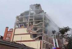 España: Dos fallecidos y varios heridos en explosión ocurrida en Madrid