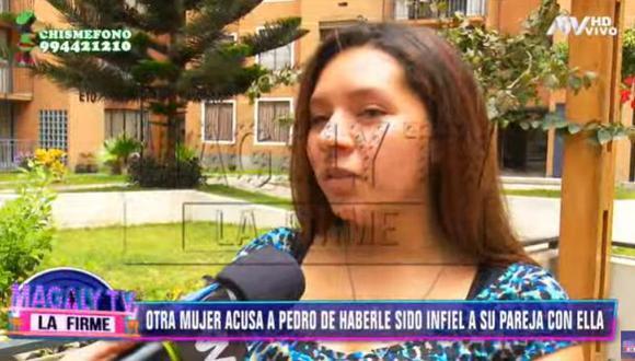 Otra joven asegura que salía con Pedro Loli cuando tenía 16 años y que este tenía conocimiento. (Imagen: ATV)