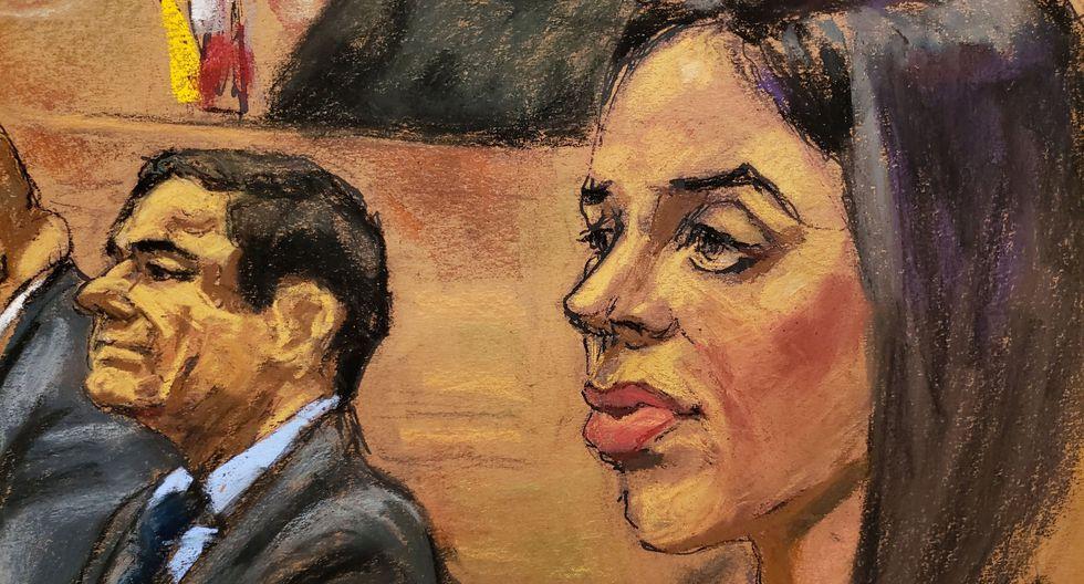 Juicio a El Chapo Guzmán: cómo su esposa Emma Coronel lo ayudó a escapar de la cárcel por un túnel. (Reuters).