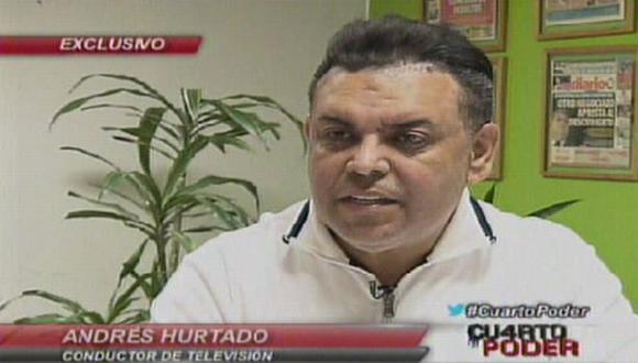 'Chibolín': Andrés Hurtado denunciado por estafa de US$ 185 mil