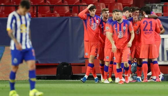 Chelsea parte con ventaja para el duelo de vuelta ante el Porto. (Foto: EFE)