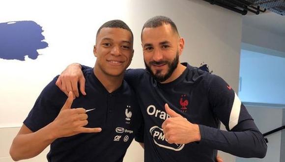 Karim Benzema terminó como el goleador del Real Madrid en la temporada 2020-21. (Instagram)