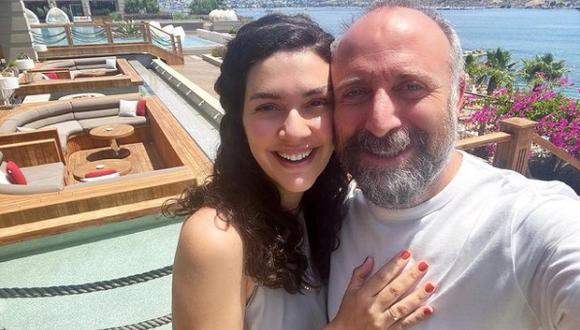 Bergüzar Korel y Halit Ergenç se casaron en 2009 y son una de las parejas más sólidas del medio turco (Foto: Bergüzar Korel / Instagram)