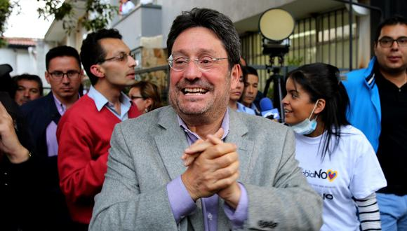 Embajador de Colombia en Washington Francisco Santos dice que Estados Unidos va por Nicolás Maduro. (EFE).