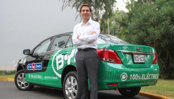 En agosto, Taxi Directo reiniciaría sus operaciones en centros comerciales,  estima Patricio Portaro, su gerente general.