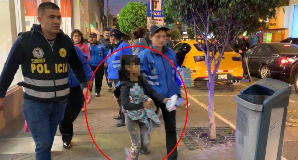 Más de 20 menores fueron rescatados de las calles de Miraflores. Dos menores tienen parálisis cerebral. (Foto: Difusión)