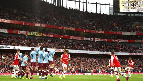 Arsenal lo dio vuelta y venció 3-2 al Aston Villa por la sexta jornada de la Premier League   Foto: Arsenal
