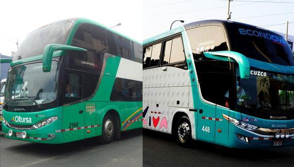 Empresas de transporte interprovincial ya pueden llevar pasajeros a provincia. (Foto: GEC)
