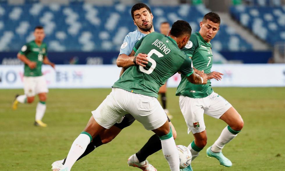 Uruguay vs. Bolivia por el Grupo A de la Copa América 2021 | Foto: EFE