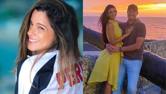 """Vanessa Terkes le desea lo mejor George Forsyth con nueva novia: """"Felicidad para ellos"""". (Foto: @vanessaterkes/@george.forsyth)"""