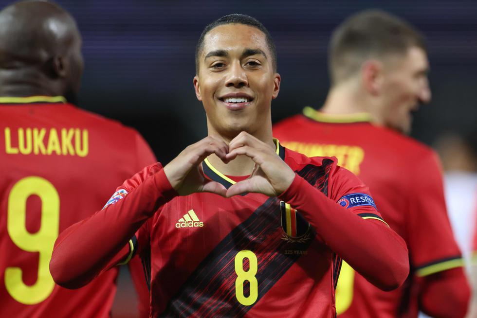 Bélgica enfrentó a Inglaterra por la Liga de Naciones