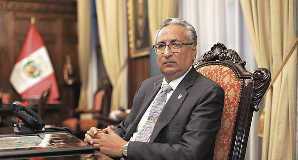 Presidente del Poder Judicial, José Luis Lecaros, afronta una investigación preliminar (GEC)