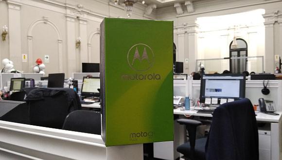 El Moto G6 Plus de Motorola ya está disponible en el mercado local. Es uno de los principales representante de los smartphones de gama media. (Foto: Bruno Ortiz)