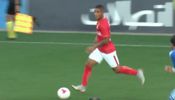 Roberto Siucho jugó el segundo tiempo del amistoso ante Dinamo Brest. (Foto: Captura YouTube)