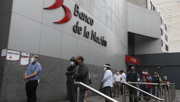 El Banco de la Nación informó que los jubilados de la ONP podrán cobrar sus pensiones desde este viernes 5 de febrero. (Foto: GEC)