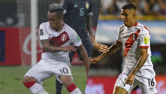 Cueva y Peña son las dos grandes opciones que tiene Ricardo Gareca al elegir al creativo de la selección peruana. (Foto: AFP)