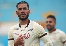 Universitario de Deportes: Jonathan Dos Santos sufrió un desgarro y estará fuera de los campos por un mes