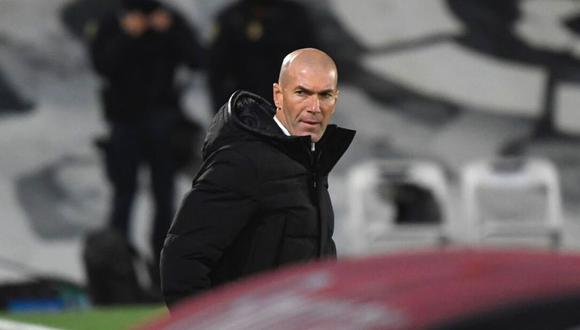 Zinedine Zidane mostró su rechazo a críticas sobre arbitraje (Foto: AFP)