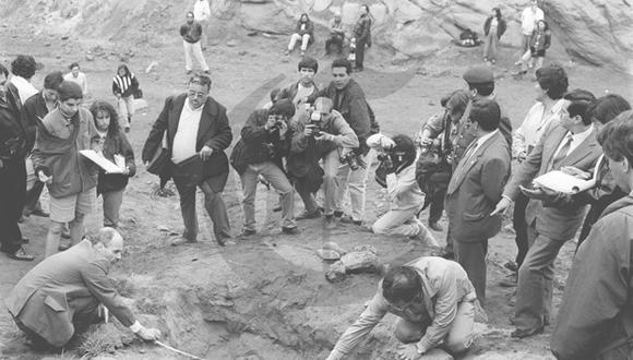 Así ocurrió: En 1993 desentierran restos del caso La Cantuta