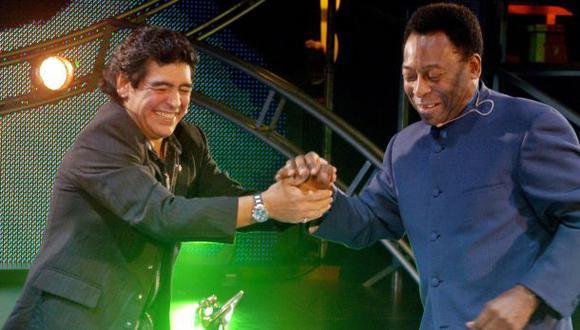 """Diego Maradona polemiza: """"Pelé está acostumbrado a ser segundo"""""""
