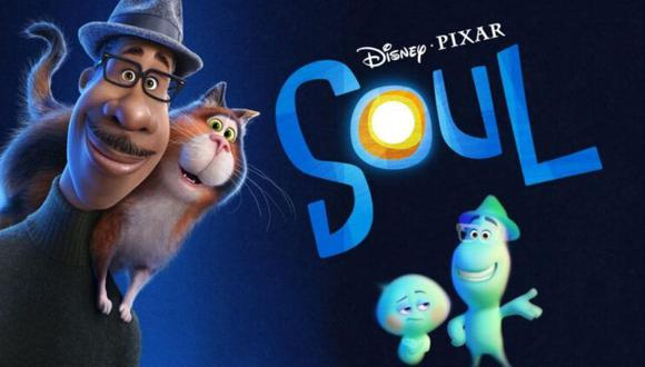 """Dirigida por Pete Docter y producida por Dana Murray, """"Soul"""" (""""Alma"""" en español) es una película de Pixar y Disney (Foto: Disney+)"""