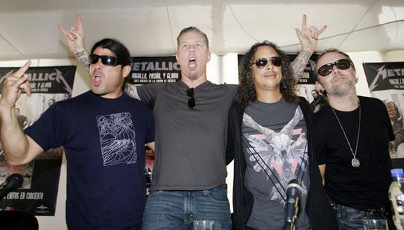 Integrantes de Metallica pasearon por Lima de incógnito