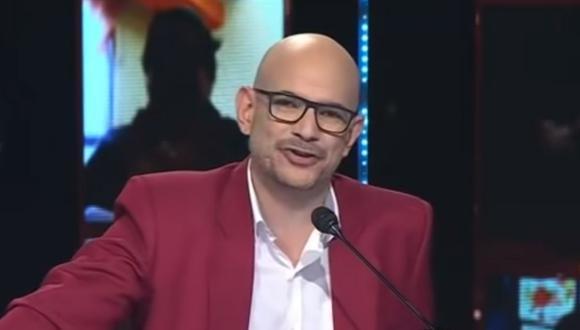 """Ricardo Morán dio gracias al público por convertir a """"Yo Soy"""" en uno de los programas más vistos durante la cuarentena. (Foto: Captura de YouTube)."""