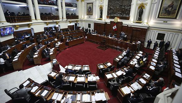 La discusión de hoy no estuvo exenta de polémica entre varios legisladores y en más de una ocasión el presidente del Parlamento tuvo que intervenir para poner orden en el debate. (Foto: Archivo El Comercio)