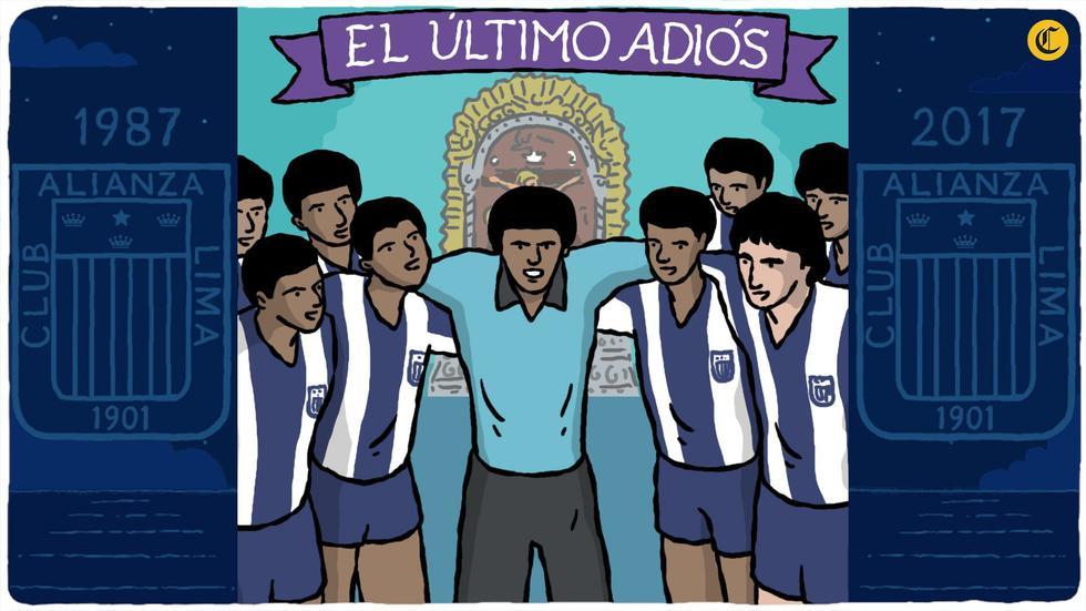 A 30 años del luto más doloroso de la historia de nuestro fútbol, recordamos a los 'Potrillos' del club íntimo con esta sensacional composición de Augusto Polo Campos. (Foto/video: El Comercio)