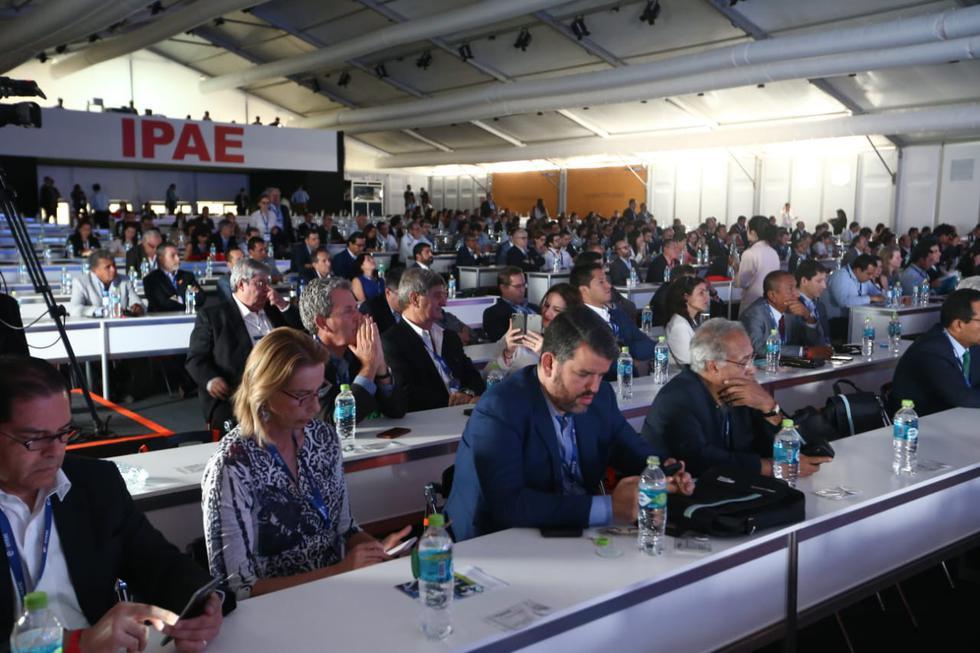 Al evento acudieron más de 1,000 ejecutivos de diversos sectores económicos y autoridades del gobierno para participar del evento. (Foto: Alessandro Currarino/GEC)