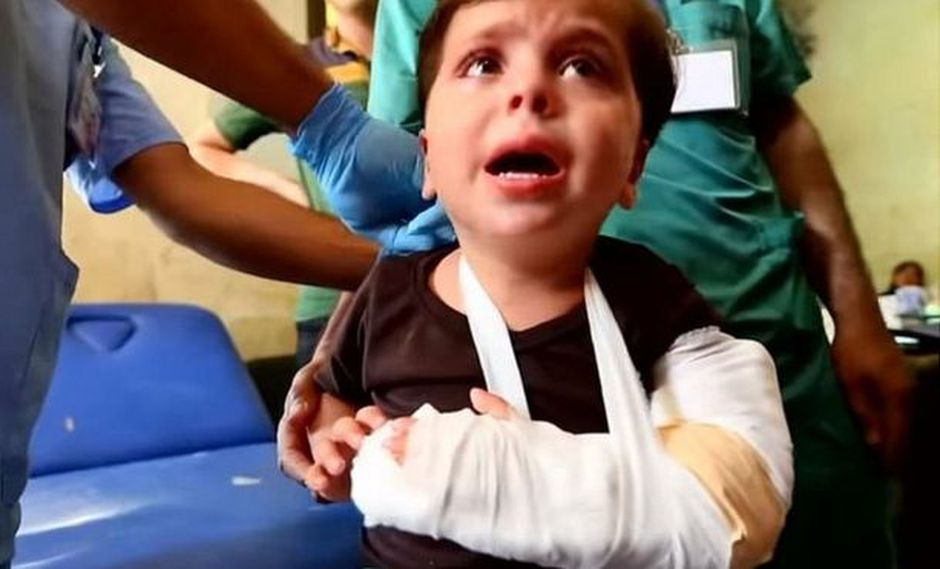 En la provincia siria de Idlib han tenido que construir hospitales subterráneos. (Foto: BBC Mundo)