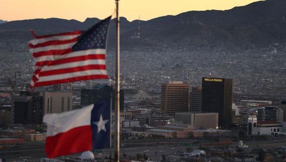 El Paso, Texas, es una de las principales ciudades en la frontera de Estados Unidos y México.