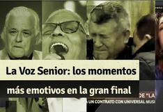 """""""La Voz Senior"""": revive el triunfo de Mito Plaza y los momentos más emotivos de la gran final"""