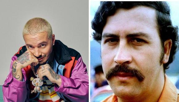 J Balvin contó un traumático momento que vivió en la infancia por  Pablo Escobar. (Foto: Instagram / @jbalvin / @juanpabloescobarhenao).
