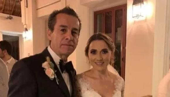 Raúl Orihuela González contrajo nupcias con Valeria Hassen Morales. Foto vía El Universal de México/ GDA