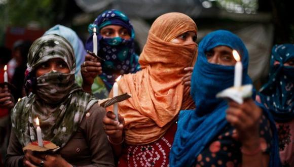 Violan y queman viva a una mujer discapacitada en la India