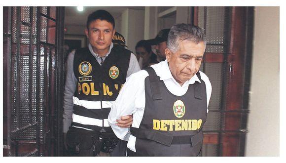 El exalcalde de Chiclayo, David Corneje, la orden de prisión preventiva en el penal de Ancón. (Foto: GEC)