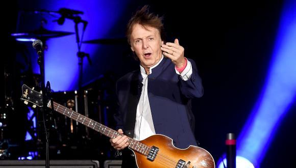 """Paul McCartney pide al mundo no comer """"productos de origen animal"""" por un día a la semana. (Foto: AFP)"""