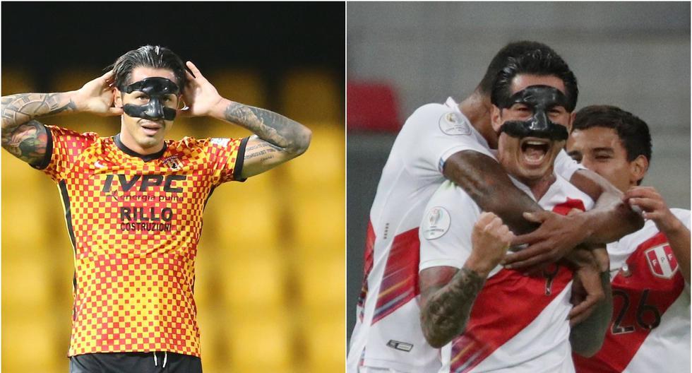 Gianluca Lapadula, el insaciable enmascarado que brilla con la selección peruana y Benevento   Fotos: Agencias