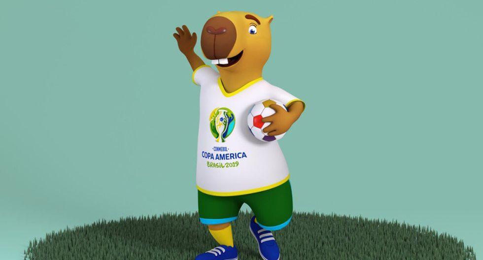 Se busca nombre para la mascota de la Copa América 2019. (Foto: @CopaAmerica)