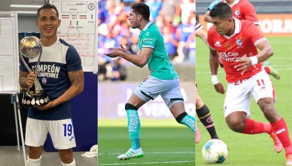 Así le fue este fin de semana a tres peruanos que disputaron la Copa América 2021.