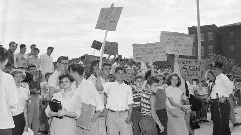 Bryant Howroyd creció en la turbulenta época en que se inició la integración racial de las escuelas en Estados Unidos. (Getty Images).