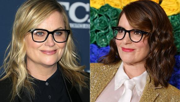 Tina Fey y Amy Poehler volverán a presentar los Globos de Oro en 2021 (Foto: AFP)