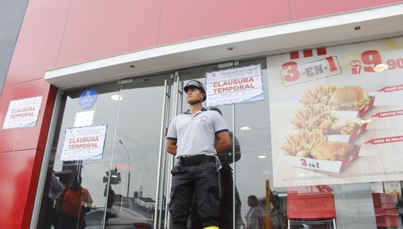 El local de KFC sancionado está ubicado en la avenida Canadá, en San Luis. (Difusión)
