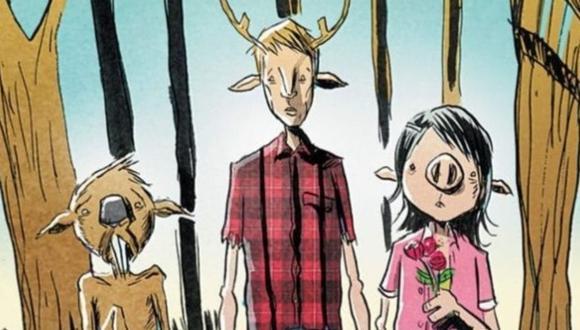 """Las adaptaciones de Cómics a la pantalla por lo general cambian en algunos aspectos y """"Sweet Tooth"""" no fue la excepción. Desde restarle terror a la historia y cambiar personajes, la nueva serie de Netflix fue presentada como todo un cuento de fantasía. (Foto: Jeff Lemire)"""