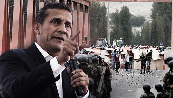 Ollanta Humala: ¿la caída de su aprobación fue por Tía María?