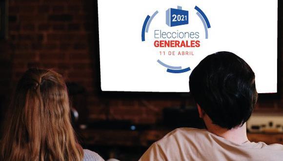En televisión abierta, cerca del 90% de los anuncios se registraron durante los comerciales de noticieros y otros formatos periodísticos. (Foto: ONPE)