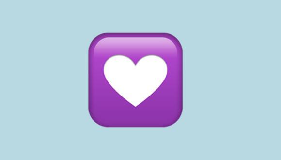 ¿Alguna vez alguien te mandó este corazón? Conoce qué es lo que quiso decir en WhatsApp. (Foto: Emojipedia)
